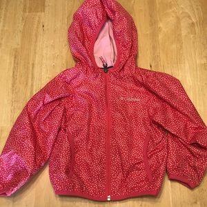 Columbia Girls size 3T pink jacket